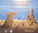 Sandskulpturen Disneyland Paris Sand Magic Oostende