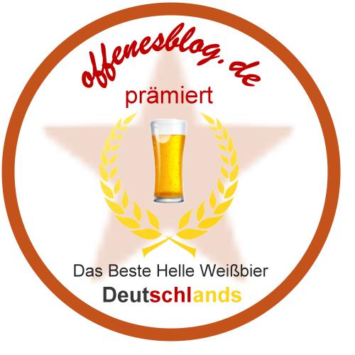 offenesblog Bronze Prämiert Bestes Helles Weißbier Deutschlands