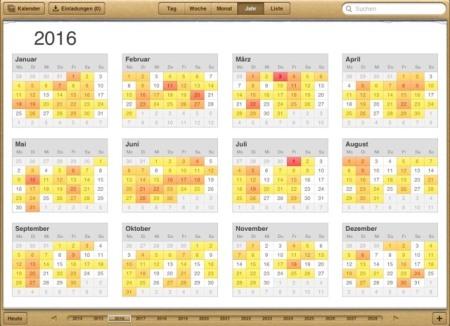 Brückentage Kalender 2016