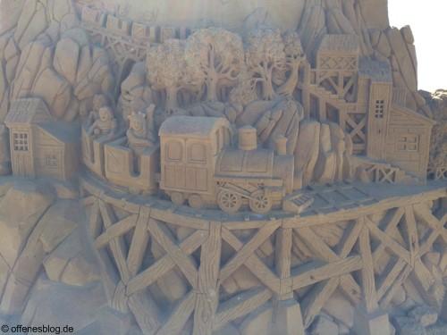Sandskulpturen Festival Ostende