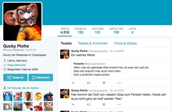 Gucky Plofre Twitter