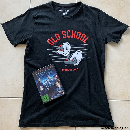 Mord im Orient Express DVD + Old School Hands of Gold T-Shirt Gewinnspiel