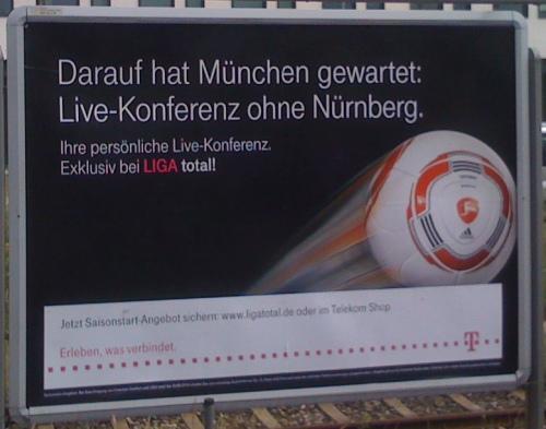 Live-Konferenz ohne Nürnberg