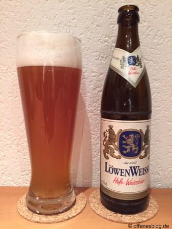 Löwenbräu LöwenWeisse Hefe-Weissbier