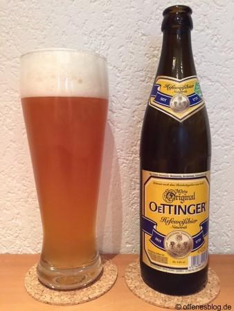 Oettinger Hefeweißbier Naturtrüb