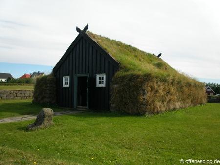 Traditionelles isländisches Haus