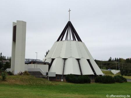 Breiðholtskirkja nahe Reykjavik