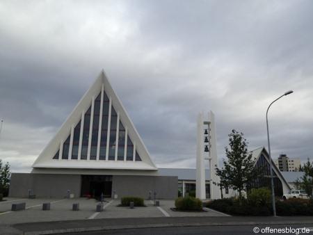 Langholtskirkja nahe Reykjavik