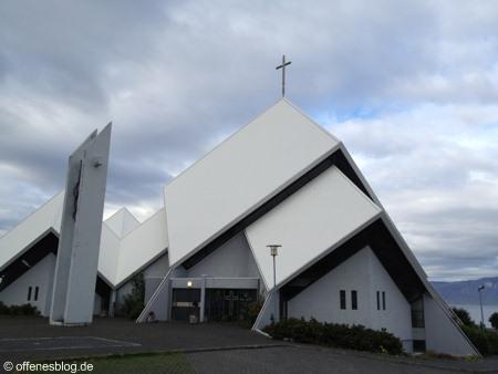 Seltjarnarneskirkja nahe Reykjavik