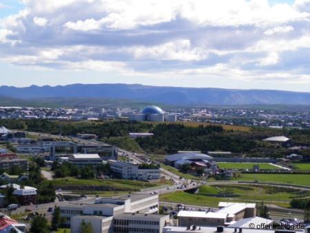 Perlan in Reykjavik