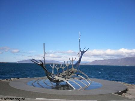 Sólfar in Reykjavik