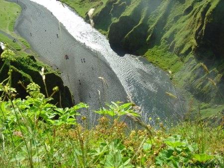 Skógafoss Wasserfall