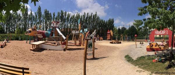 Spielplatz Flughafen Spielplatz